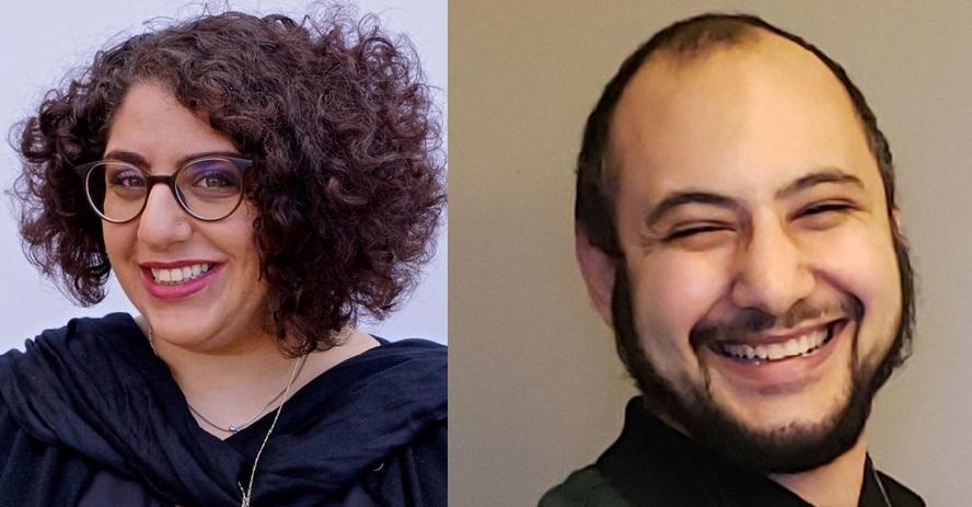 Lamise Shawahin and Omar Rashed