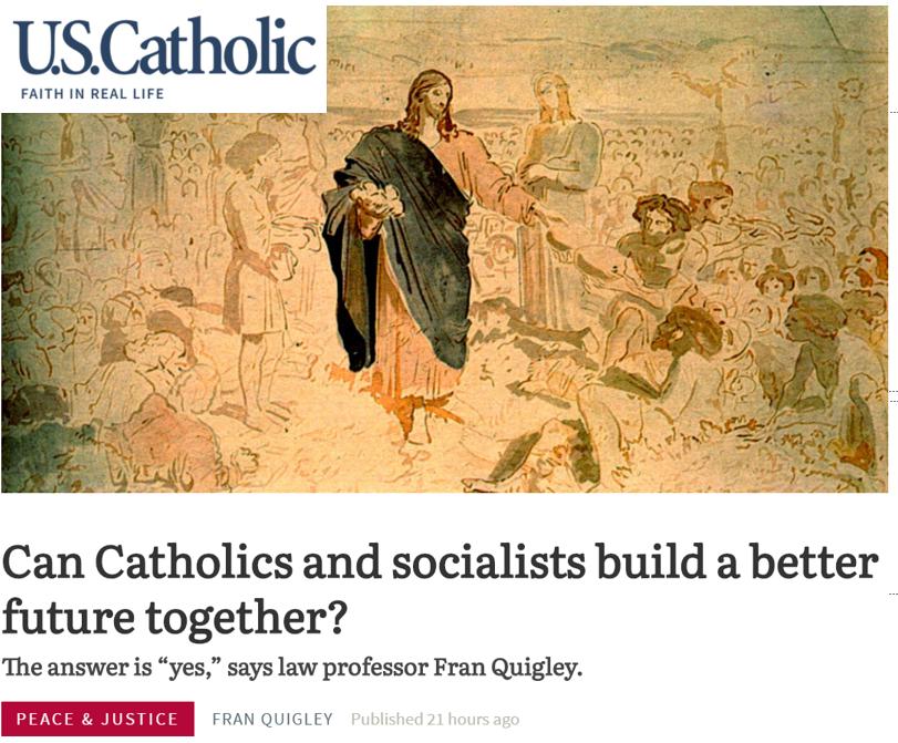 U.S. Catholic front page