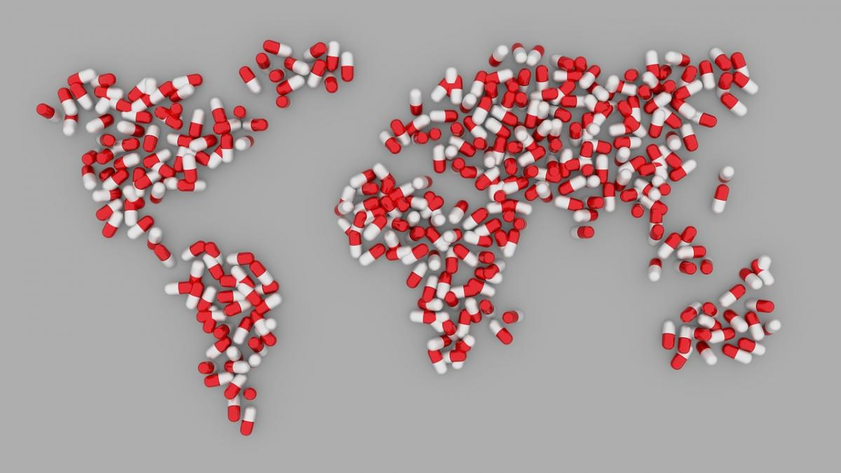 World Map in Pills